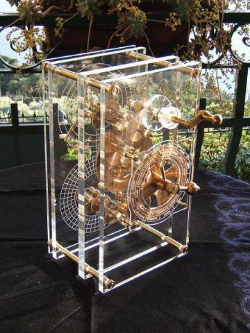 Modelo del mecanismo de Anticitera realizado por Mogi Vicentini en 2007
