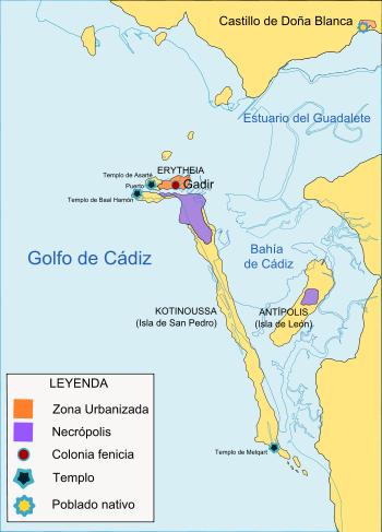Mapa de Gadir
