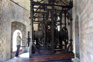 Reloj de la catedral de Barcelona de 1576. / CARLES RIBAS