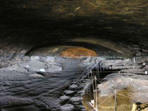 La cueva de Wonderwerk, en Sudáfrica. / M.CHAZAN