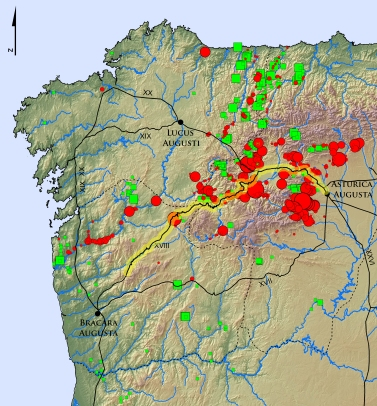 Mapa SIG Via Nova